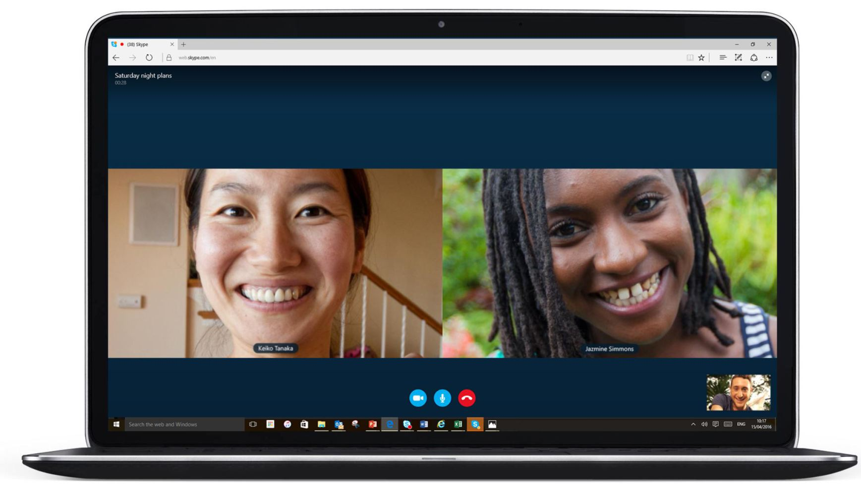 Skype voice and video calls now work plugin-free on ...