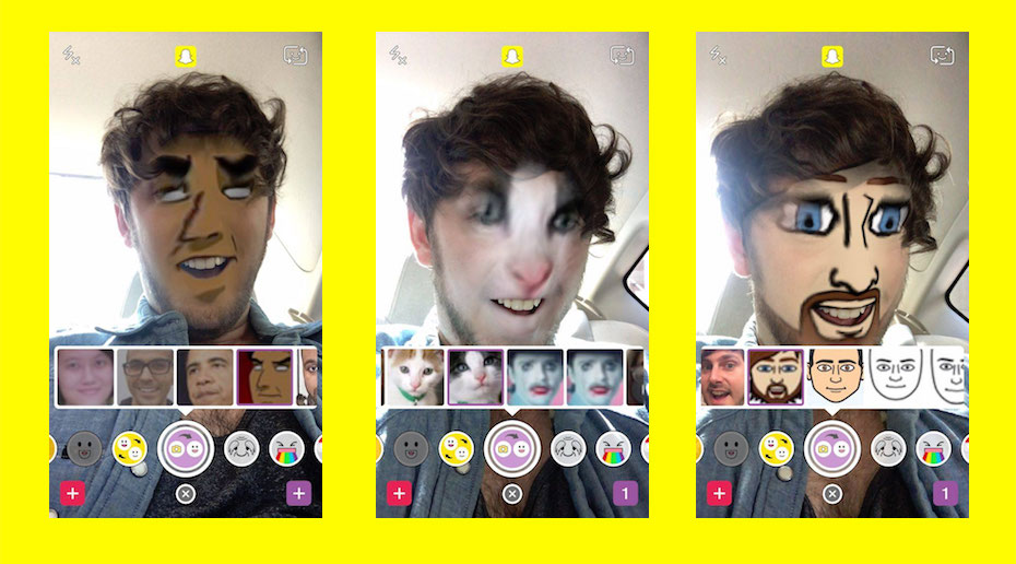 Snapchat lets you Face-Swap with your camera roll, drops paid