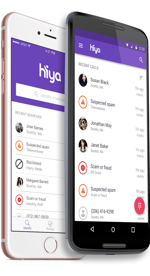 Whitepages spins out its caller-ID business as Hiya to take