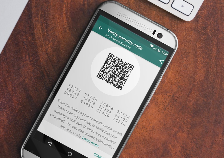 "Encrypted messaging platform WhatsApp denies ""backdoor"