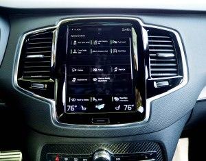 2016 Volvo XC90 console