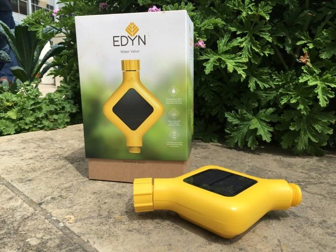 edyn debuts smart water valve to put home gardens on autopilot techcrunch - Edyn Garden Sensor