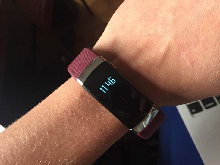 The InBody Band fitness tracker can measure your body