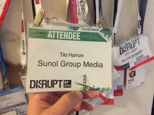 First Disrupt Arrended Badge