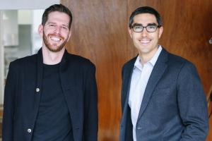 Tally cofounders (L-R) Jasper Platz and Jason Brown.