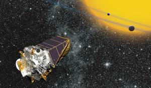 Illustration of the Kepler space telescope / Image courtesy of NASA