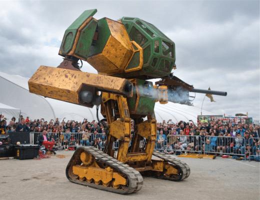 MegaBots เรียกมันวันละวางหุ่นยนต์ต่อสู้เพื่อขายบน eBay thumbnail