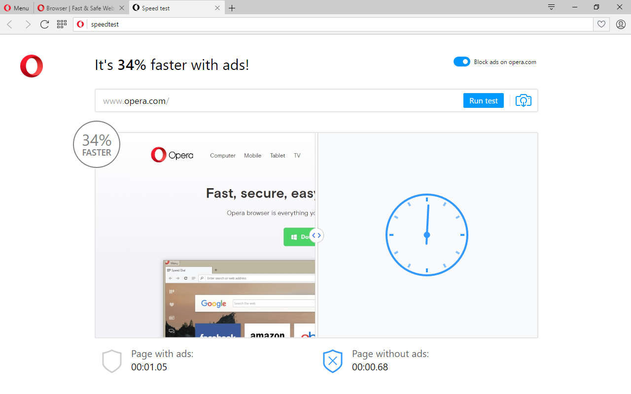 Opera's ad blocker comes to its stable release channel and ...