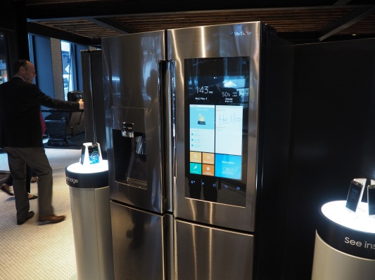 A closer look at Samsung's connected Family Hub Refrigerator