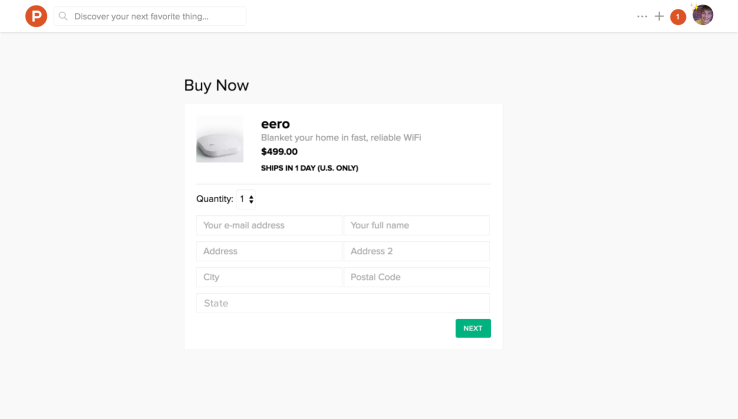 product-hunt-shop-buy-page