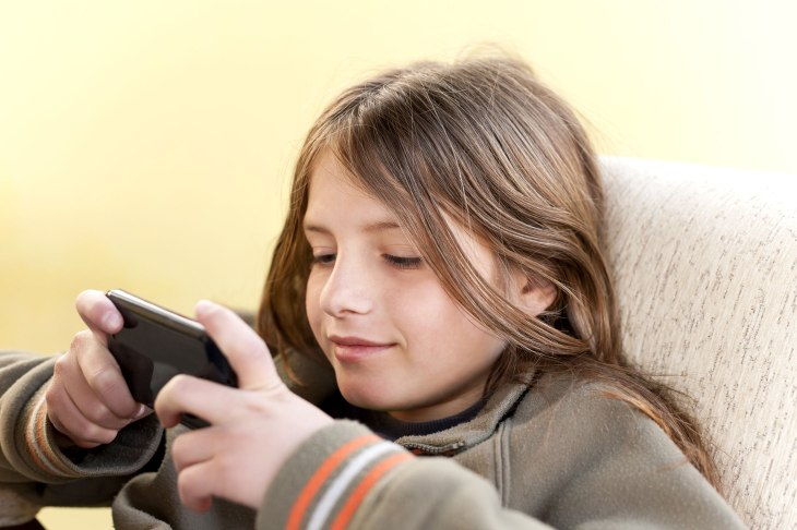 The average age for a child getting their first smartphone is now