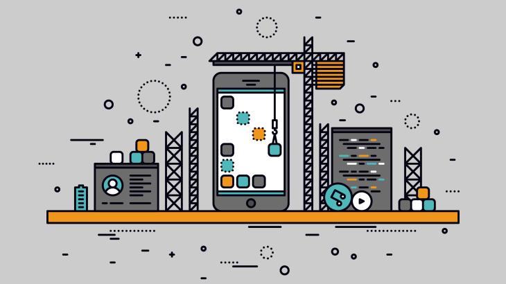 smartphone app construction api