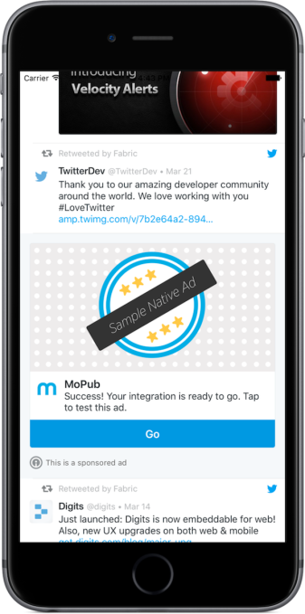 Twitter Kit + MoPub iOS example_light