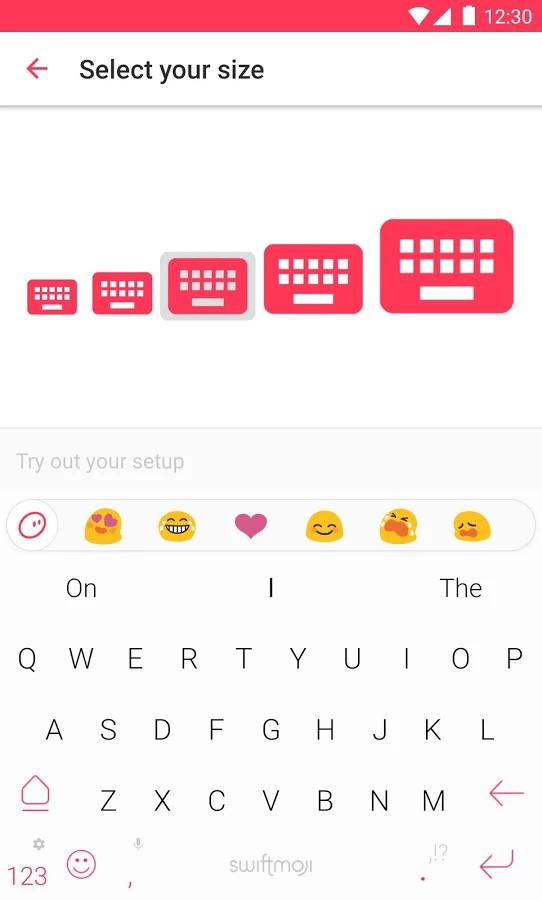 Swiftkey's newest keyword app, Swiftmoji, suggests emoji as