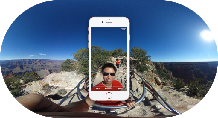 """Facebook unlocks tilt-viewing of your panoramas with """"360"""