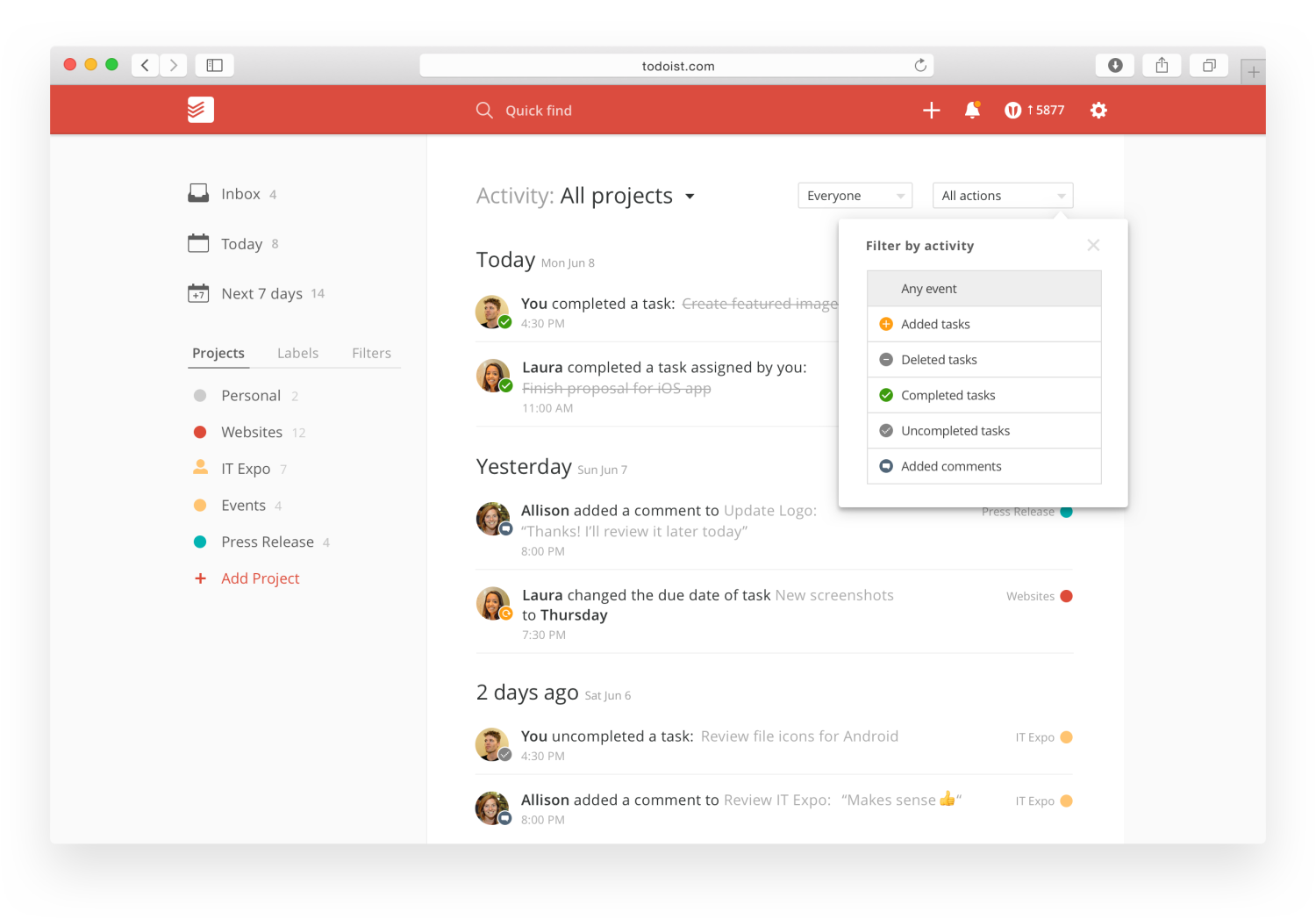 Todoist gets serious about business with new collaboration features