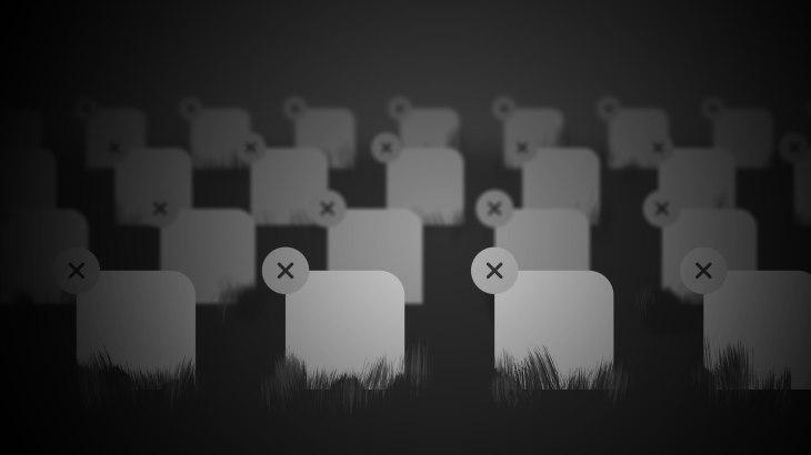 the apple app store graveyard techcrunch