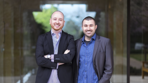 Tony DiMatteo and Matt Clemenson, cofounders of AutoLotto.