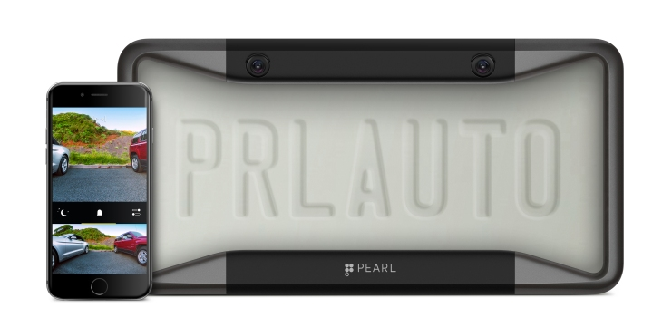 Pearl Automation\'s license plate cover puts a car backup camera on ...