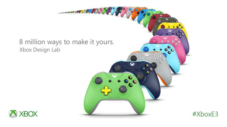 Xbox Design Lab lets gamers colorfully customize their