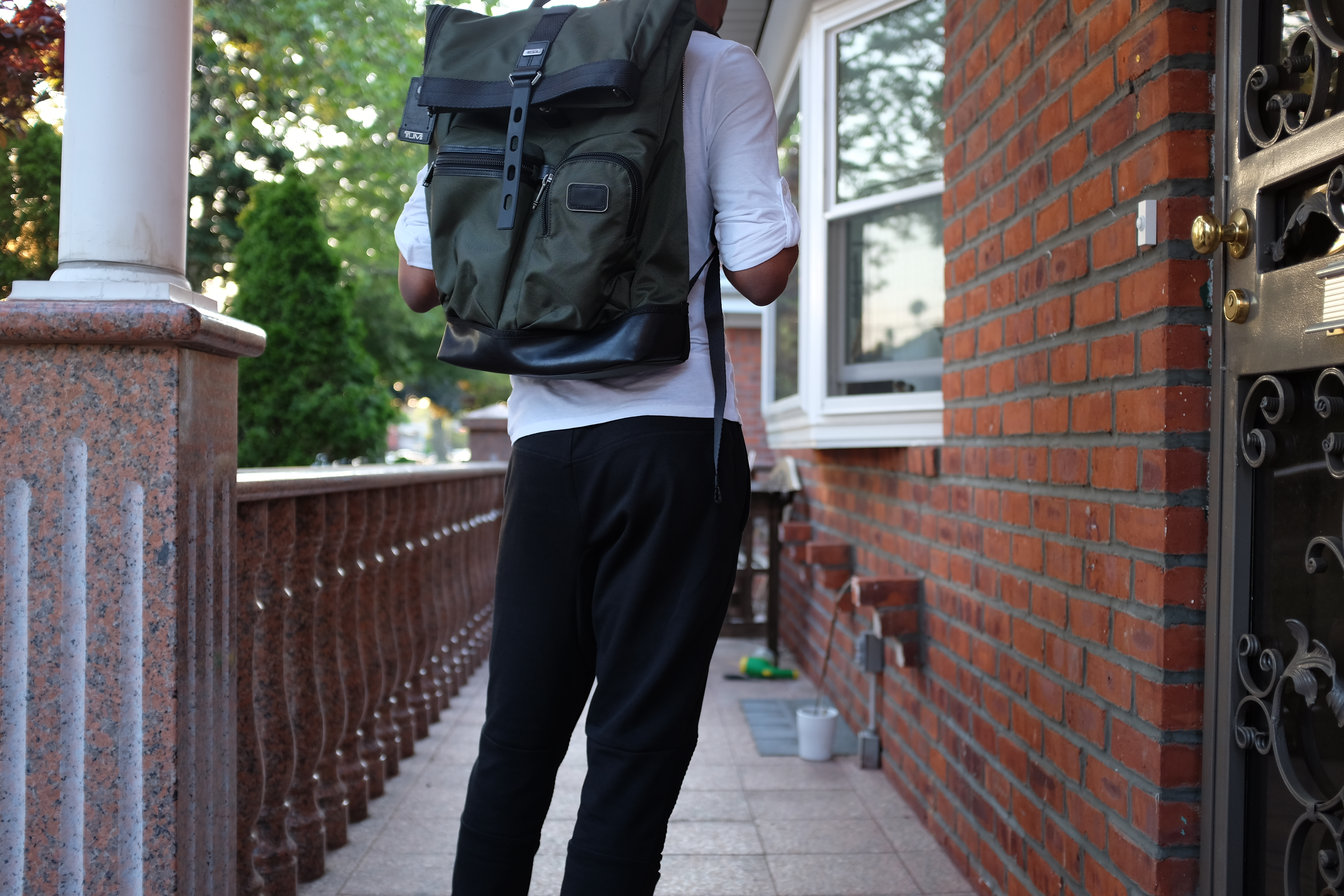 04e4c803fd8 The usage of a backpack is very linear  It goes on your back and carries  your things. Whatever