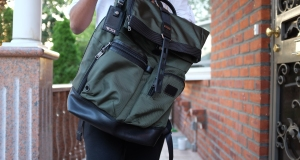 Review Tumi S Luke Roll Top Manages To Be A Charming Business Backpack