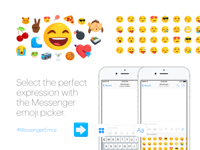 facebook Emoji Keyboard