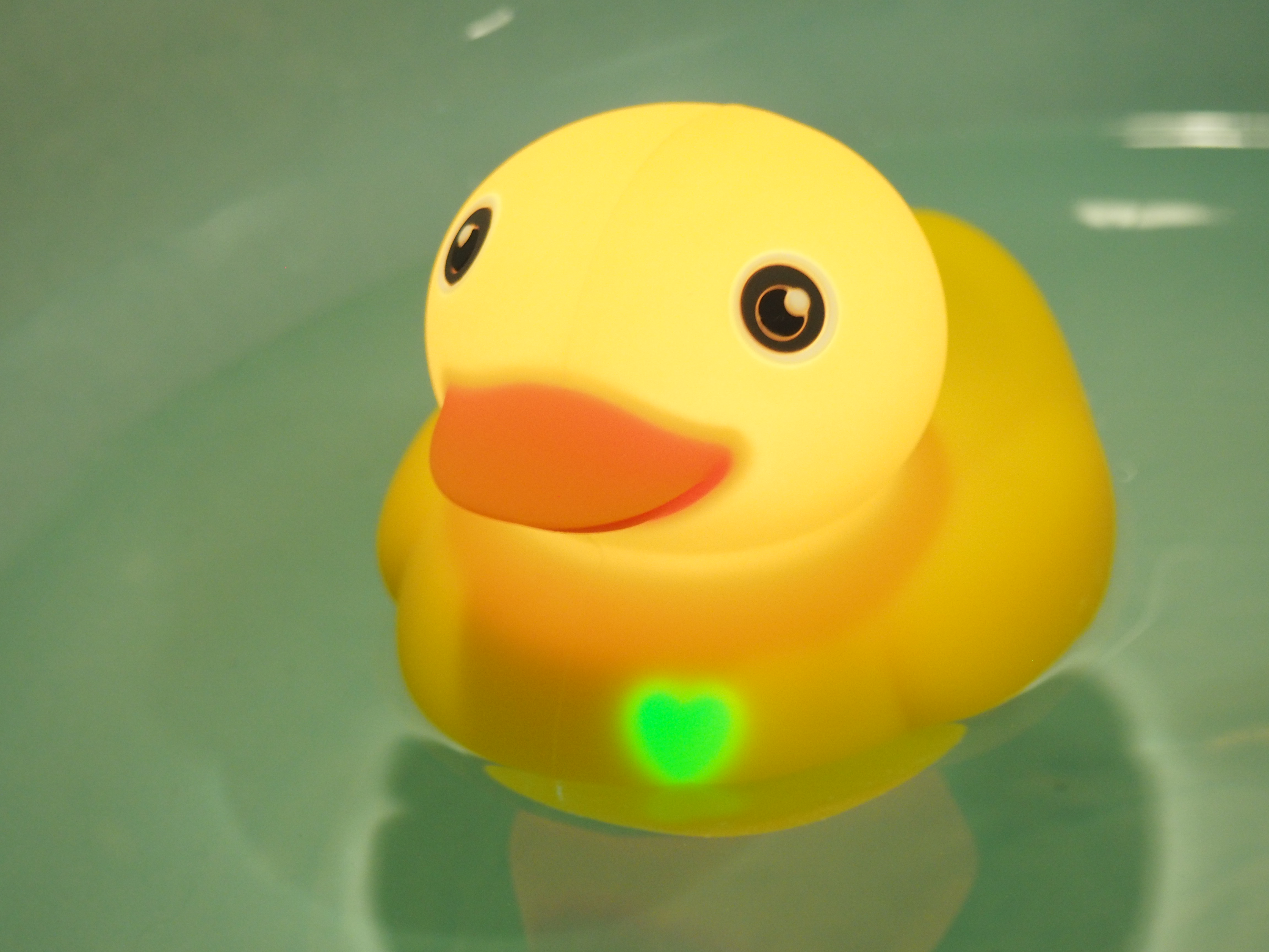 Playing around with a smart rubber duck | TechCrunch