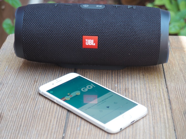JBL's Charge 3 waterproof speakers are big on battery and