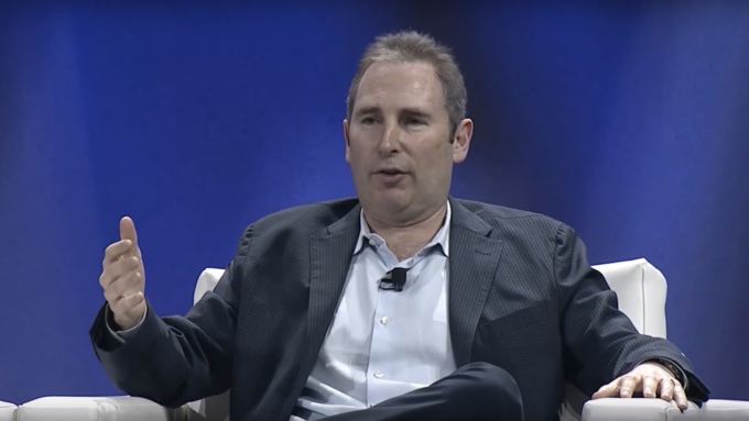 AWS CEO Andy Jassy speaking in Washington, DC in June, 2016.