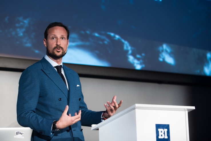HRH crown prince Haakon of Norway. Photo by Dan Taylor/Heisenberg Media.