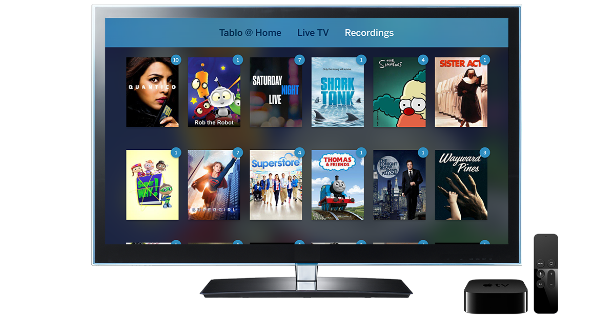 Tablo Launches Its Live Tv And Dvr App For Apple Tv