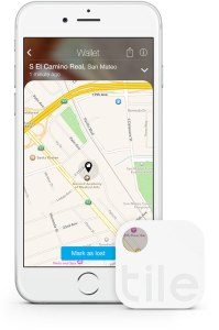 The Tile app helps users navigate to find a lost or misplaced object.