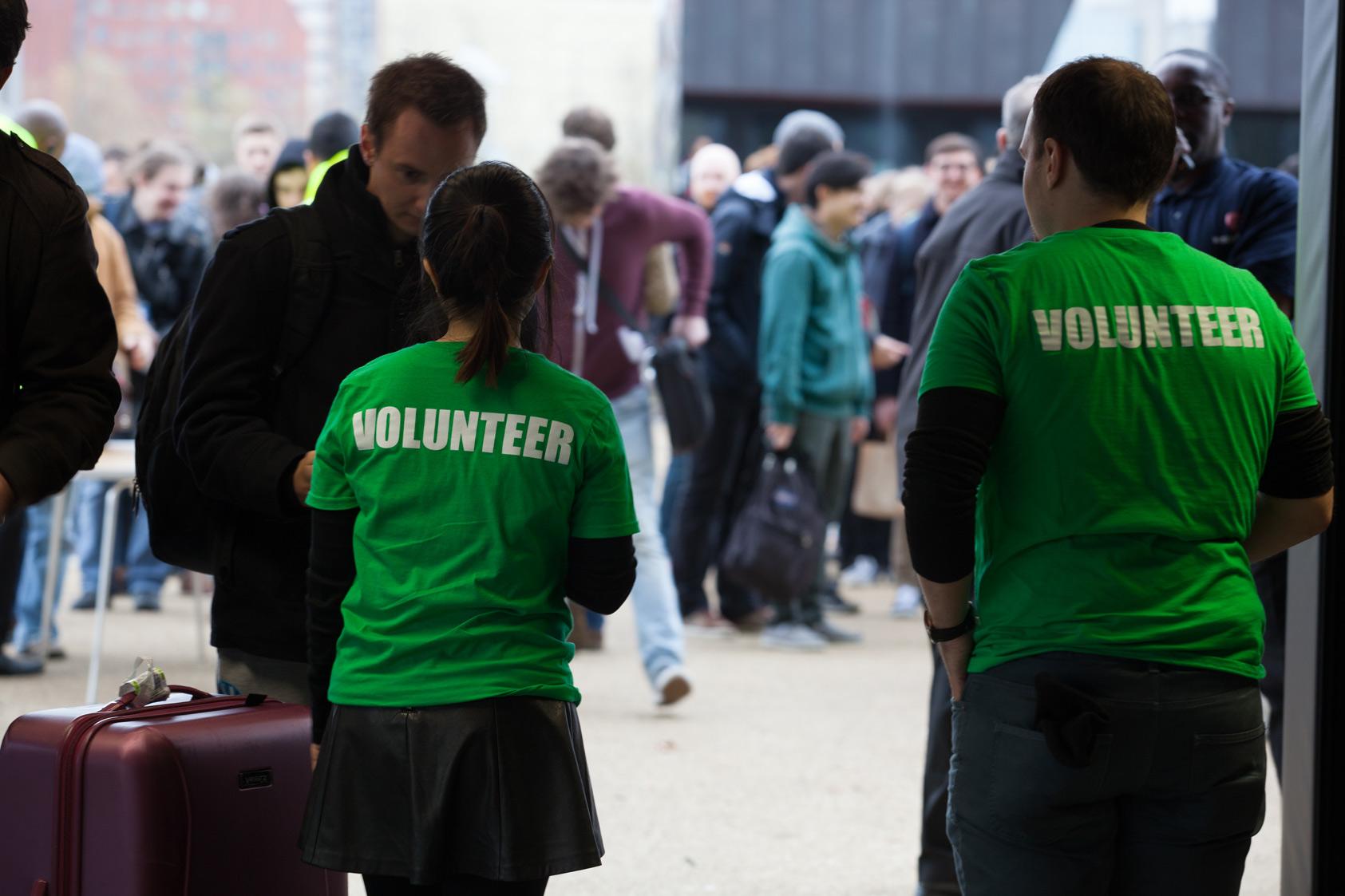 techcrunch disrupt london 2015 volunteers
