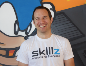 Skillz CEO and founder Andrew Paradise