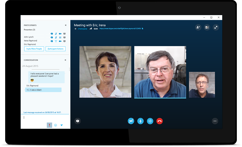 Skype Meetings is Microsoft's new free video conferencing tool for