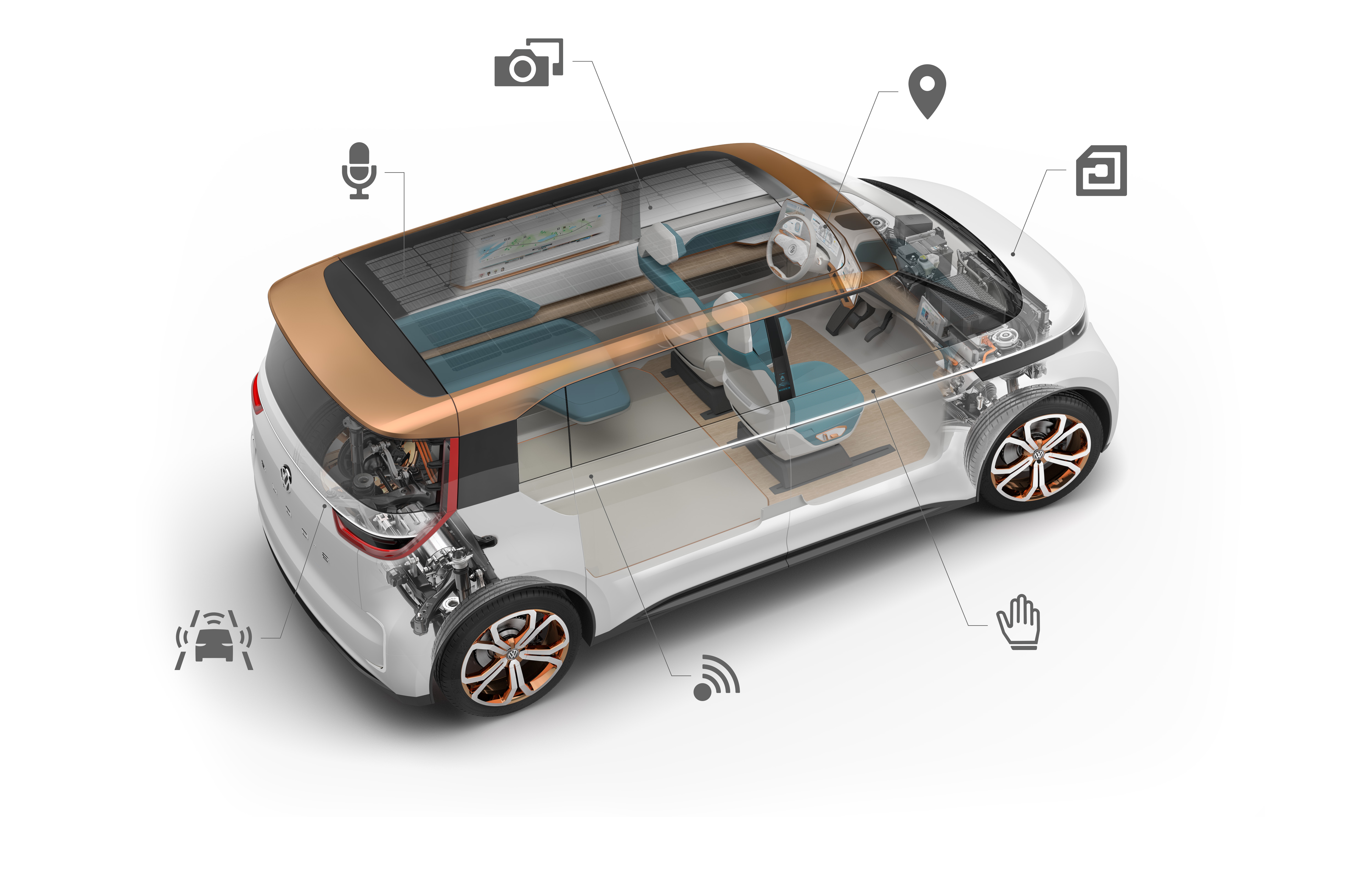 The BUDD-e concept at CES was a preview of some of VW's work with LG.