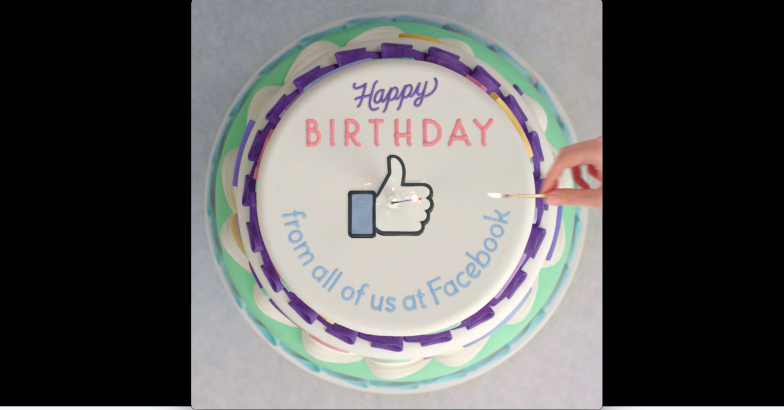 Superb Facebook Tightens Iron Grip On Birthdays With Recap Videos Funny Birthday Cards Online Elaedamsfinfo