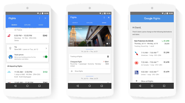 google flight tracker