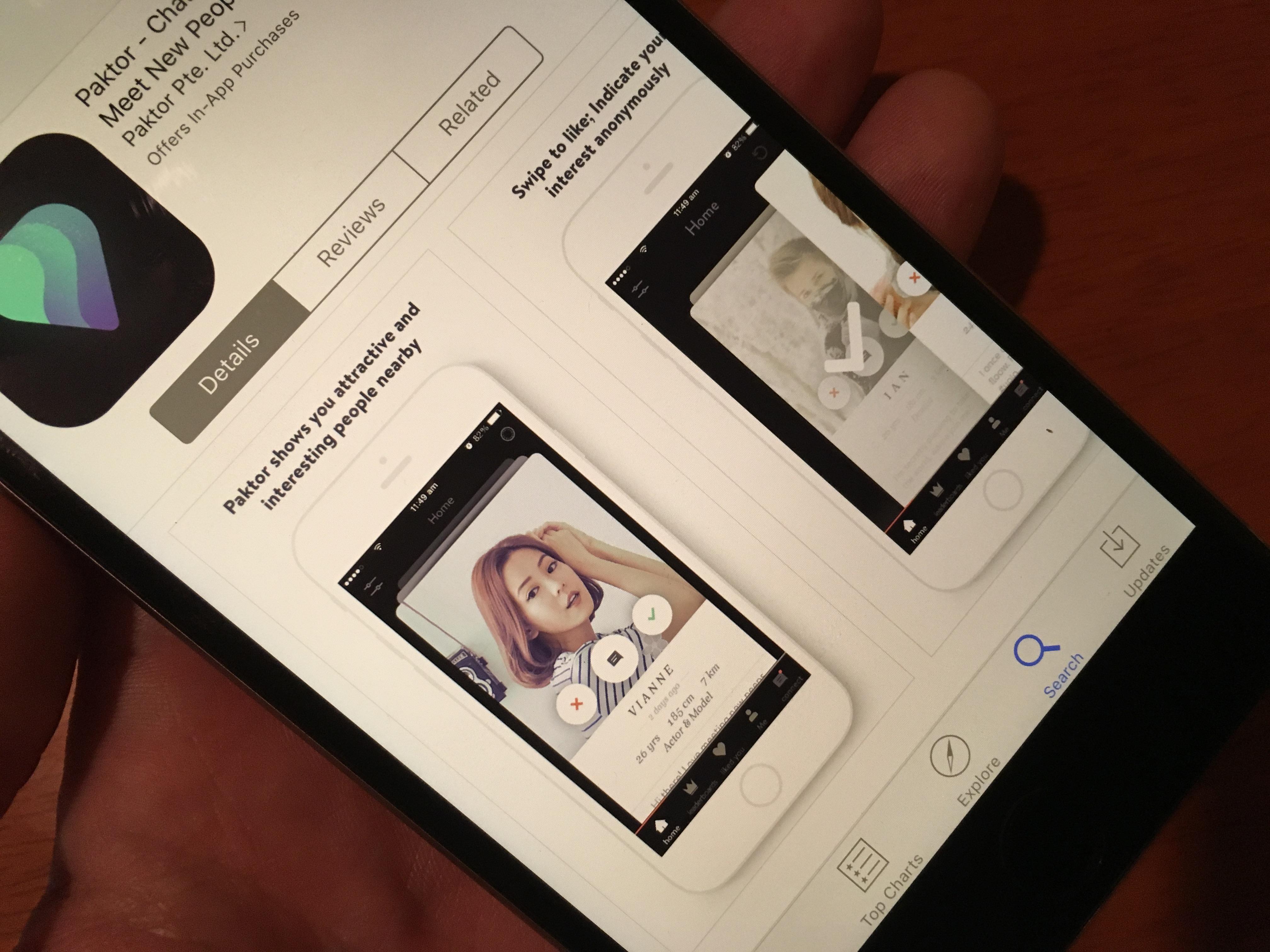 paktor designing a dating app