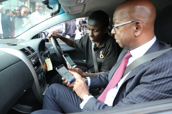 In Kenya Safaricom S Little Cab App Goes Head To Head With Uber