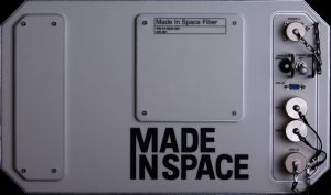 Made In Space's microgravity-optimized, miniature fiber drawing system / Image courtesy of Made in Space