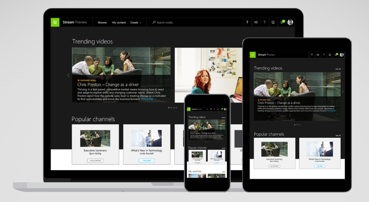 Microsoft Stream Is A New Video Service For Businesses