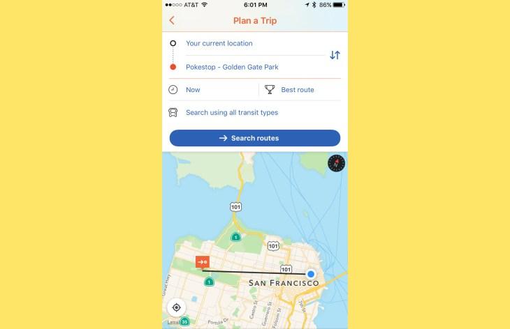 pokemon finder with coordinates