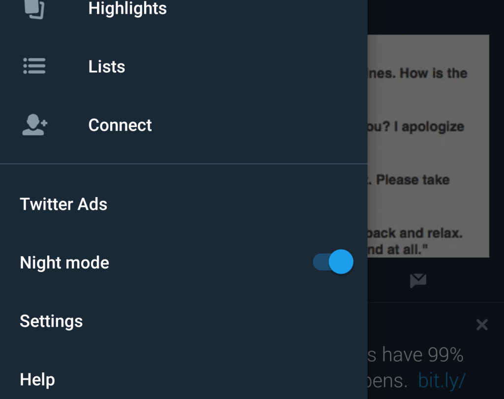 Twitter will get an even darker 'dark mode' | TechCrunch