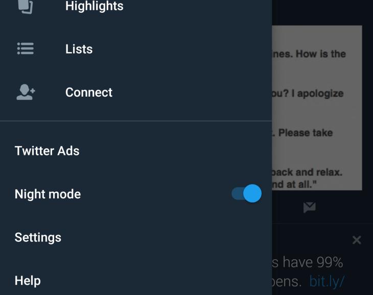 Twitter will get an even darker 'dark mode' | TechCrunch