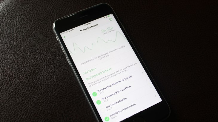Moment S New App Unveils A Phone Bootcamp To Help You Break Your