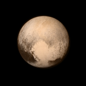 Image of Pluto taken by the Long Range Reconnaissance Imager (LORRI) aboard New Horizons, on July 13, 2015 / Image courtesy of NASA/JHUAPL/SwRI