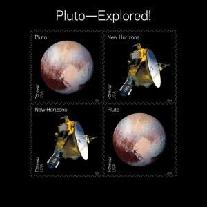 Pluto Stamp
