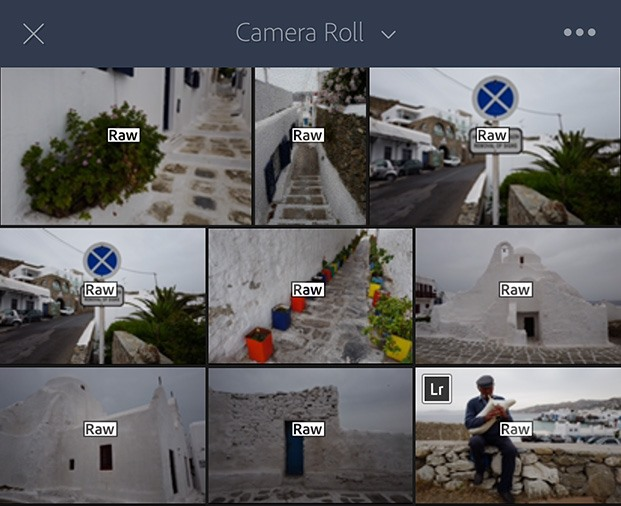 Lightroom for iOS receives the gift of universal RAW support